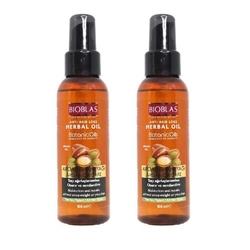 Bioblas - Bioblas Botanic Oils Argan Saç Bakım Yağı 100 Ml (2'li Set)