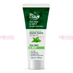 Farmasi - Dr. C. Tuna Çay Ağacı Yağı ve Nane Diş Macunu-112 gr