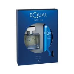 Hunca - Equal Intense Edt 75 ml Erkek Parfüm + 150 Ml Deodorant Set