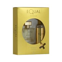 Hunca - Equal Intense Edt 75 ml Kadın Parfüm + 150 ml Vücut Spreyi Set