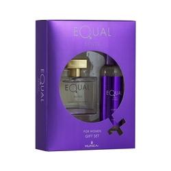 Hunca - Equal Sense Edt 75 ml Kadın Parfüm + 150 ml Vücut Spreyi Set