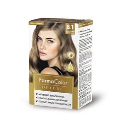 Farmasi - Farmacolor Deluxe Saç Boyası Küllü Açık Kumral 8.1