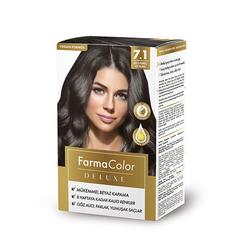 Farmasi - Farmacolor Deluxe Saç Boyası Küllü Kumral 7.1