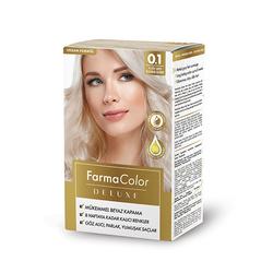 Farmasi - Farmacolor Deluxe Saç Boyası Platin Sarı 0.1