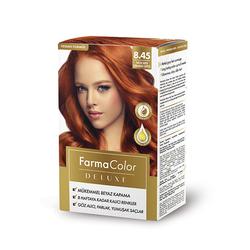 Farmasi - Farmacolor Deluxe Saç Boyası Tarçın Bakır 8.45