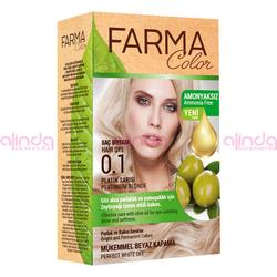 Farmasi - Farmacolor Saç Boyası 0.1 Platin Sarısı