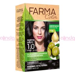 Farmasi - Farmacolor Saç Boyası 1.0 Siyah