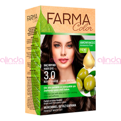 Farmasi - Farmacolor Saç Boyası 3.0 Koyu Kahve