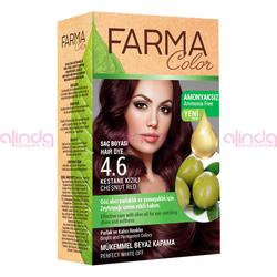 Farmasi - Farmacolor Saç Boyası 4.6 Kestane Kızılı