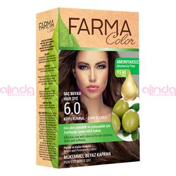 Farmasi - Farmacolor Saç Boyası 6.0 Koyu Kumral