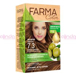 Farmasi - Farmacolor Saç Boyası 7.3 Fındık Kabuğu