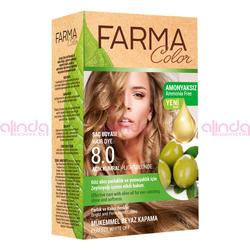Farmasi - Farmacolor Saç Boyası 8.0 Açık Kumral