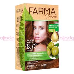 Farmasi - Farmacolor Saç Boyası 8.73 Karamel