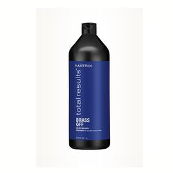L′Oreal - L'Oreal Professionnel Matrix Total Results Brass Off - Kumral Saçlara Özel Renk Koruyucu Şampuan 1000 ml