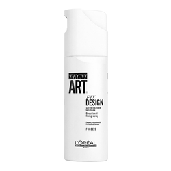 L'Oreal - L'Oreal Professionnel Tecni Art Fix Design - Bölgesel Tutuculuk için Sprey 200 ml