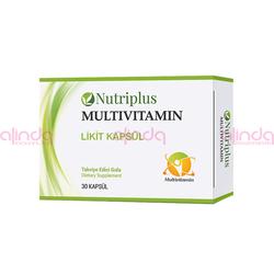 Farmasi - Nutrİplus Vitamin Ve Mineral Karışımı 30 Kapsül