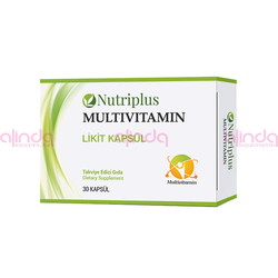 Farmasi - Nutriplus Vitamin ve Mineral Karışımı 30 Kapsül