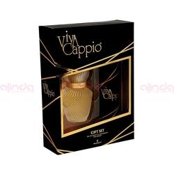 Hunca - Viva Cappio EDT 60 ml Kadın Parfüm + 150 ml Deodorant Set